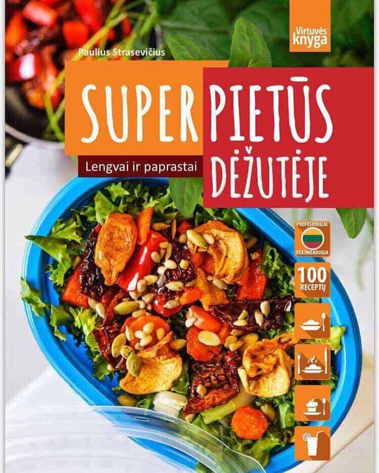Paulius Strasevičius, kulinaras, receptai